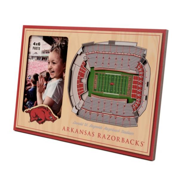 You the Fan Arkansas Razorbacks Stadium View Coaster Set product image