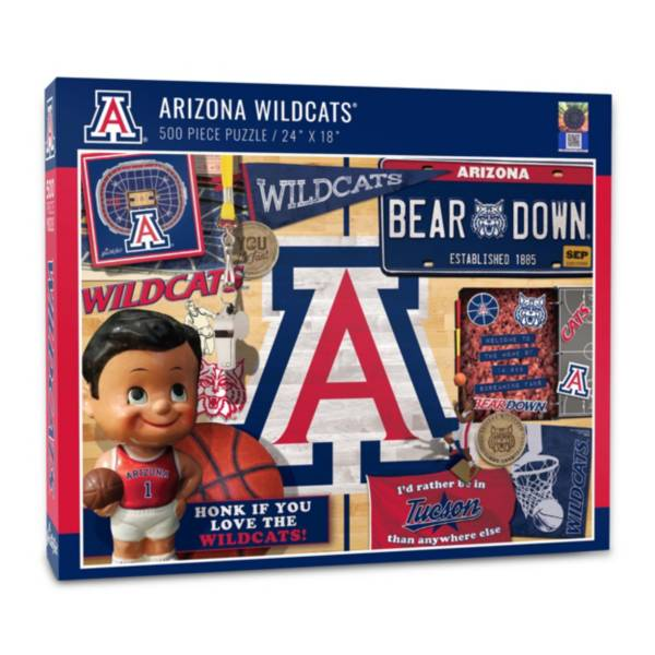 You The Fan Arizona Wildcats Retro Series 500-Piece Puzzle product image