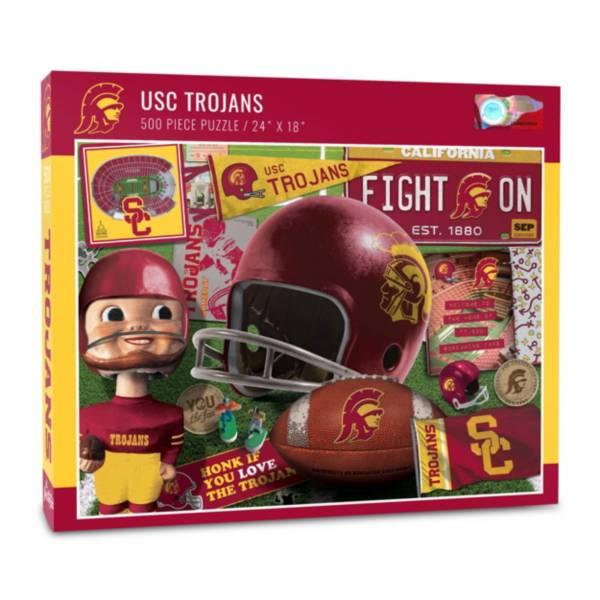 You The Fan USC Trojans Retro Series 500-Piece Puzzle product image
