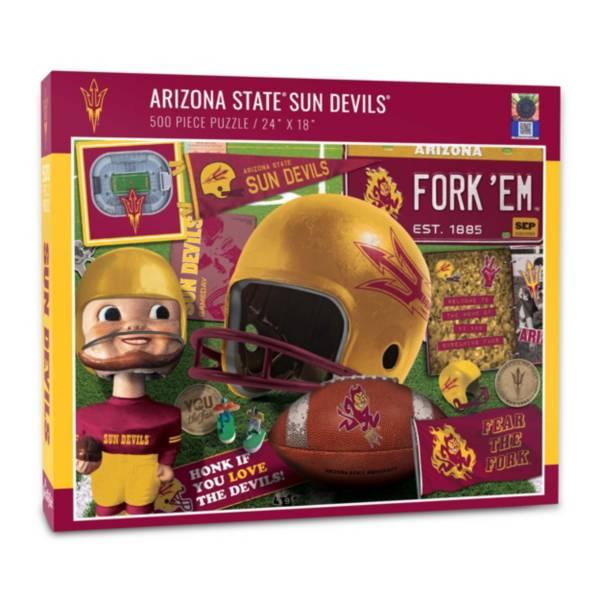You The Fan Arizona State Sun Devils Retro Series 500-Piece Puzzle product image