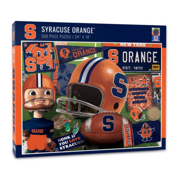 You The Fan Syracuse Orange Retro Series 500-Piece Puzzle product image