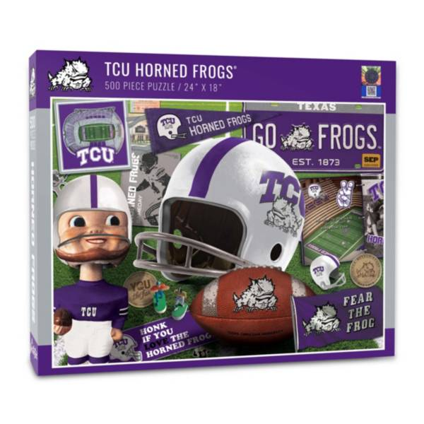 You The Fan TCU Horned Frogs Retro Series 500-Piece Puzzle product image