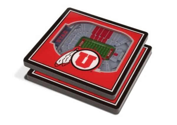You the Fan Utah Utes Stadium View Coaster Set product image