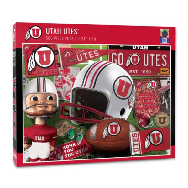 You The Fan Utah Utes Retro Series 500-Piece Puzzle product image