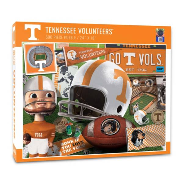 You The Fan Tennessee Volunteers Retro Series 500-Piece Puzzle product image