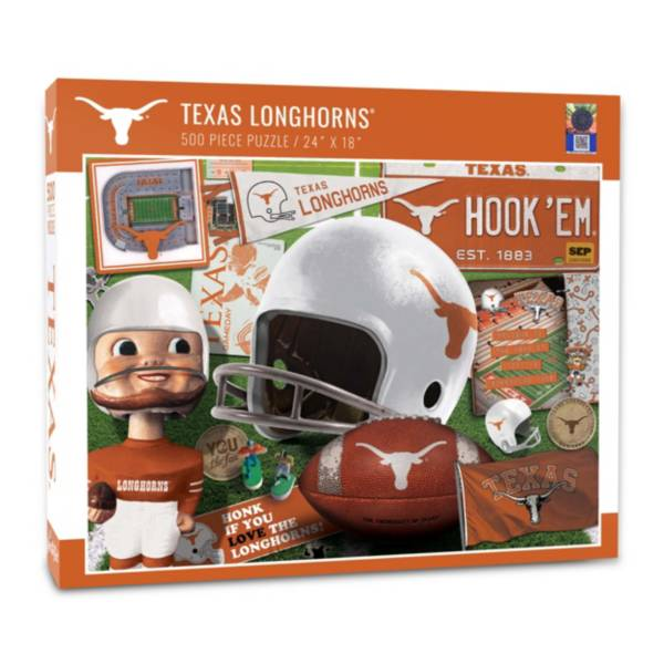 You The Fan Texas Longhorns Retro Series 500-Piece Puzzle product image
