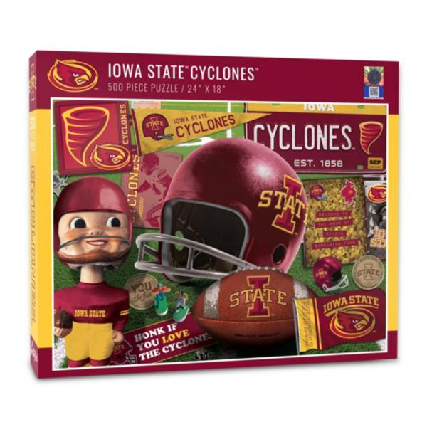 You The Fan Iowa State Cyclones Retro Series 500-Piece Puzzle product image