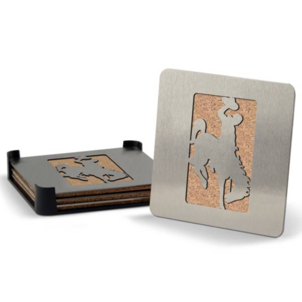 You the Fan Wyoming Cowboys Coaster Set product image