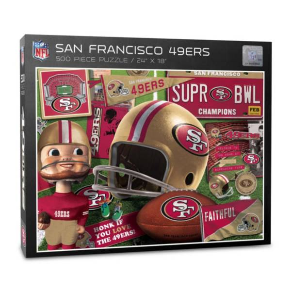 You The Fan San Francisco 49ers Retro Series 500-Piece Puzzle product image