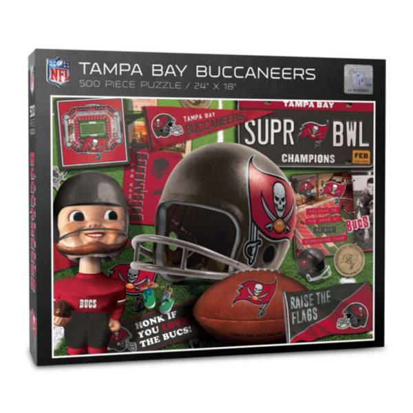 You The Fan Tampa Bay Buccaneers Retro Series 500-Piece Puzzle product image