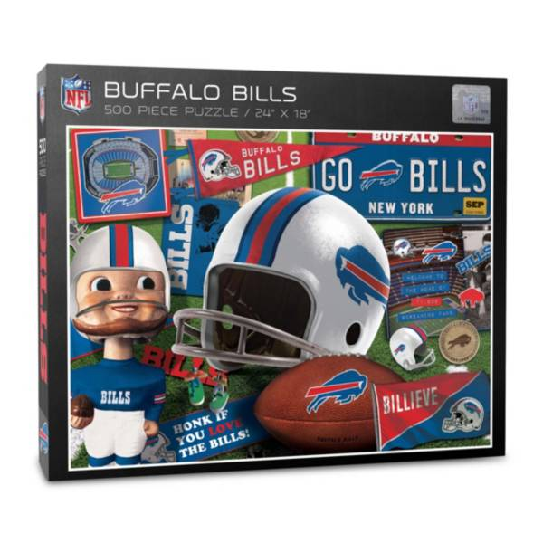 You The Fan Buffalo Bills Retro Series 500-Piece Puzzle product image