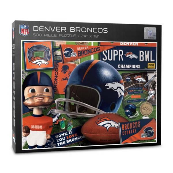 You The Fan Denver Broncos Retro Series 500-Piece Puzzle product image