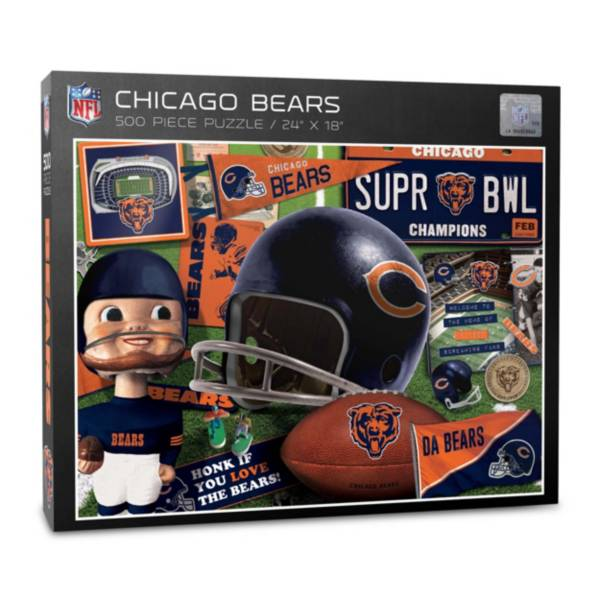 You The Fan Chicago Bears Retro Series 500-Piece Puzzle product image