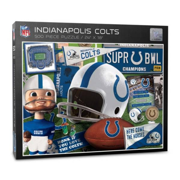 You The Fan Indianapolis Colts Retro Series 500-Piece Puzzle product image