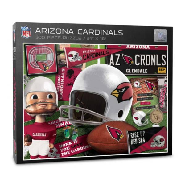 You The Fan Arizona Cardinals Retro Series 500-Piece Puzzle product image