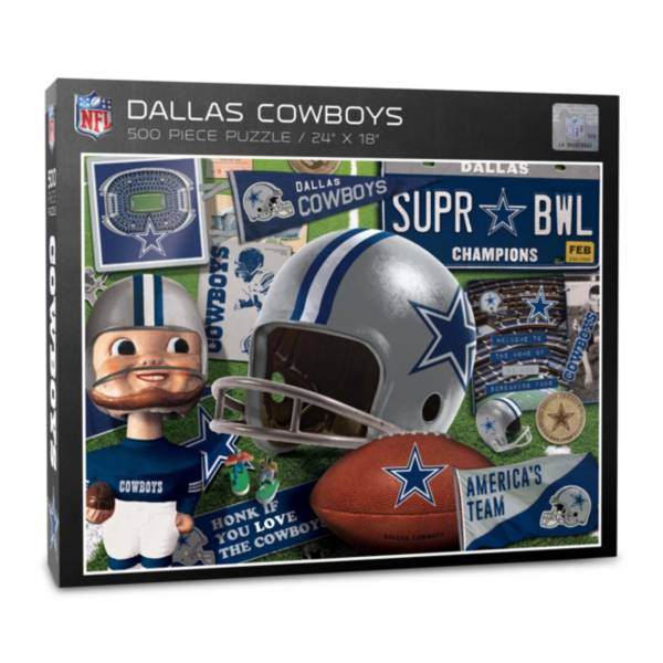 You The Fan Dallas Cowboys Retro Series 500-Piece Puzzle product image