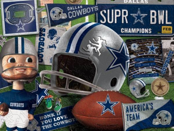 You The Fan Dallas Cowboys Wooden Puzzle product image