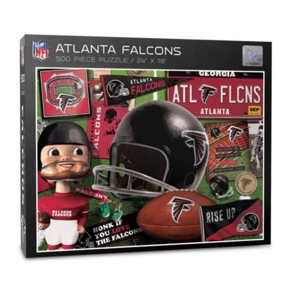 You The Fan Atlanta Falcons Retro Series 500-Piece Puzzle product image