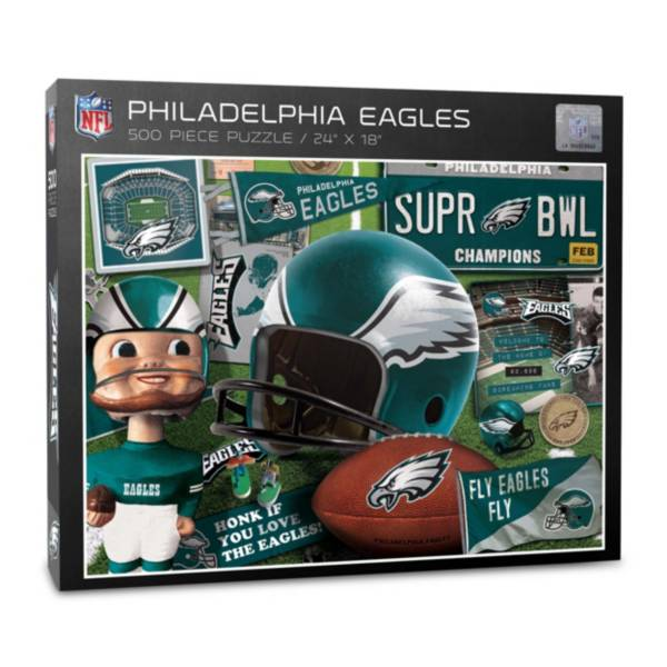 You The Fan Philadelphia Eagles Retro Series 500-Piece Puzzle product image