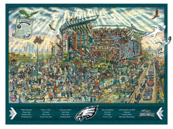 You The Fan Philadelphia Eagles Wooden Puzzle product image