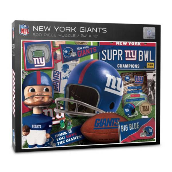 You The Fan New York Giants Retro Series 500-Piece Puzzle product image