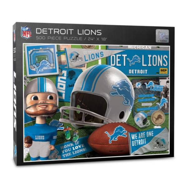 You The Fan Detroit Lions Retro Series 500-Piece Puzzle product image