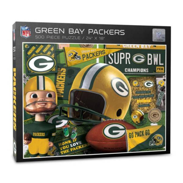 You The Fan Green Bay Packers Retro Series 500-Piece Puzzle product image