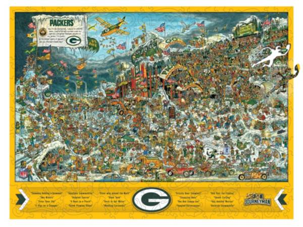 You The Fan Green Bay Packers Wooden Puzzle product image