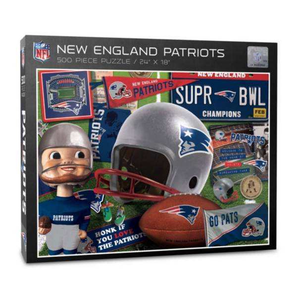 You The Fan New England Patriots Retro Series 500-Piece Puzzle product image