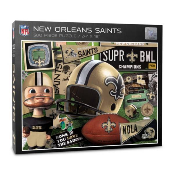 You The Fan New Orleans Saints Retro Series 500-Piece Puzzle product image