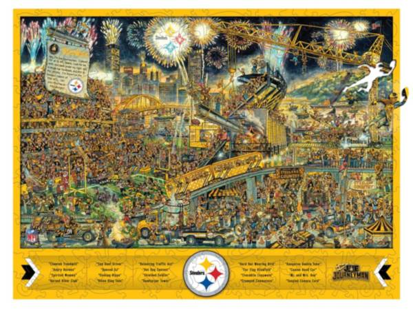 You The Fan Pittsburgh Steelers Wooden Puzzle product image