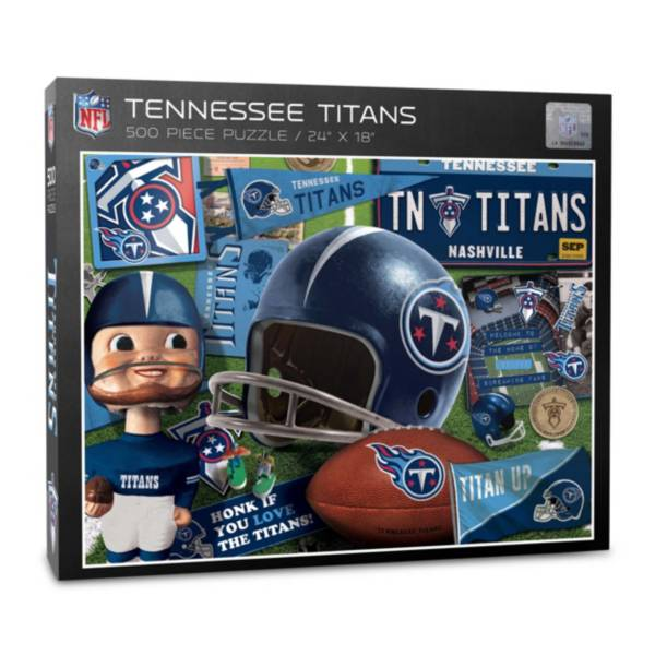 You The Fan Tennessee Titans Retro Series 500-Piece Puzzle product image