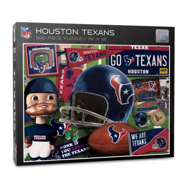 You The Fan Houston Texans Retro Series 500-Piece Puzzle product image