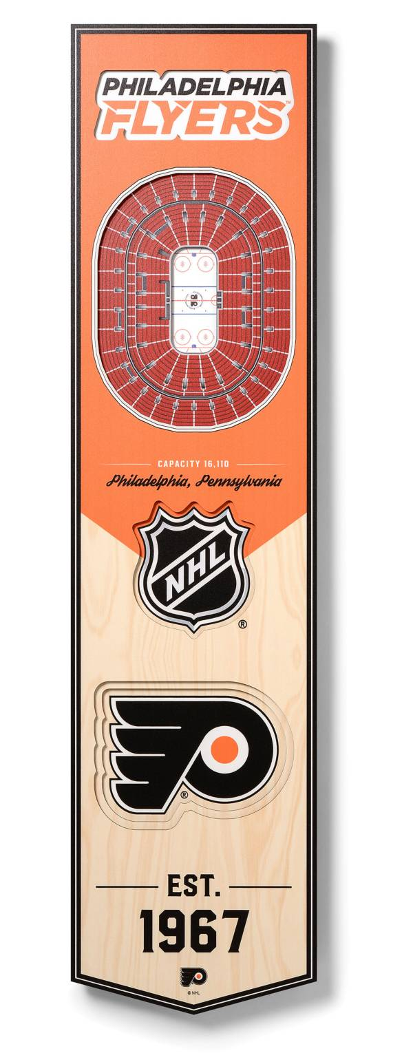 You The Fan Philadelphia Flyers 8''x32'' 3-D Banner product image