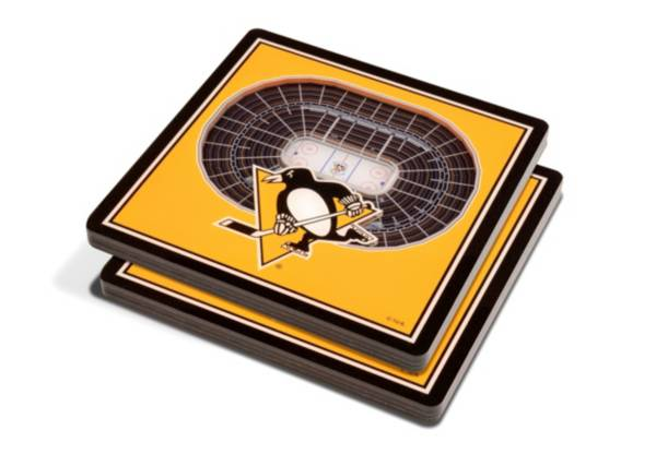 You the Fan Pittsburgh Penguins Stadium View Coaster Set product image