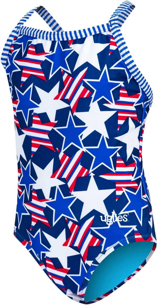Dolfin Girls' Uglies Glory Print One Piece Swimsuit product image