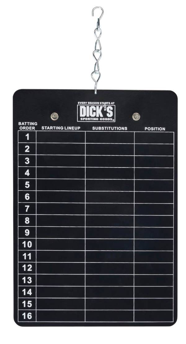 DICK'S Sporting Goods Magnetic Line-Up Board product image
