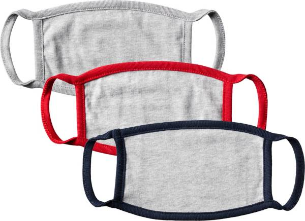 DICK'S Sporting Goods Youth Double Ply Face Mask – 3 Pack product image