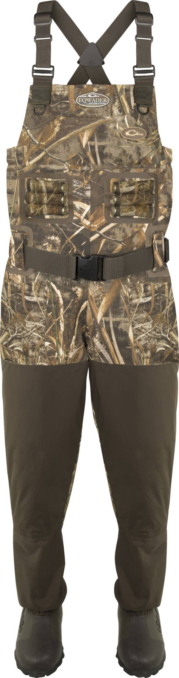 Drake Waterfowl Eqwader 1600 Breathable Chest Waders with Tear-Away Liner product image