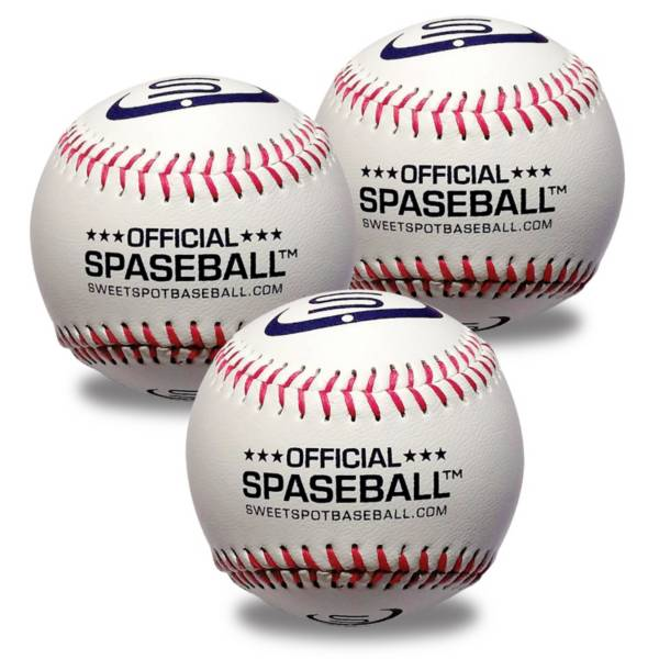 SweetSpot Baseball Lightweight Spaseball S1000 - 3 Pack product image