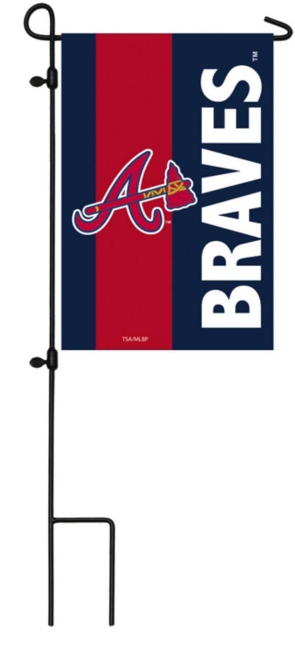 Evergreen Atlanta Braves Embellish Garden Flag product image