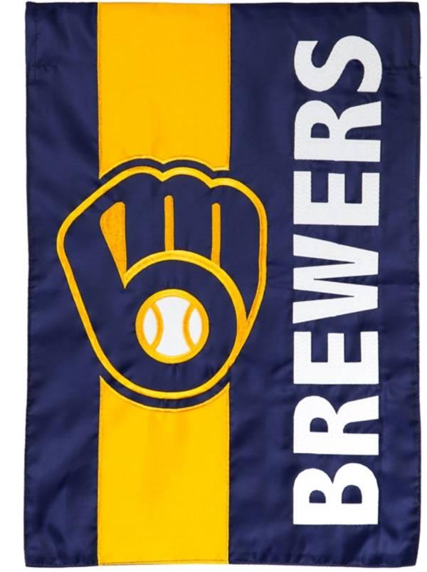 Evergreen Milwaukee Brewers Embellish House Flag product image