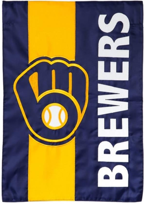 Evergreen Milwaukee Brewers Embellish Garden Flag product image