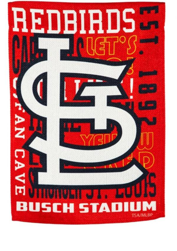 Evergreen St. Louis Cardinals Fan Rule House Flag product image