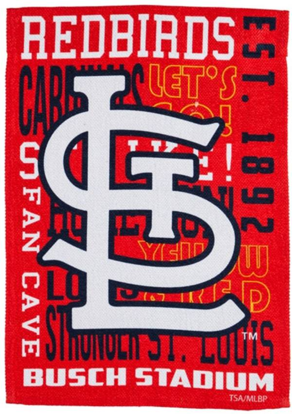 Evergreen St. Louis Cardinals Fan Rule Garden Flag product image