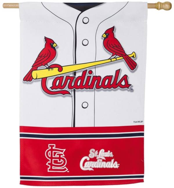 Evergreen St. Louis Cardinals Jersey House Flag product image