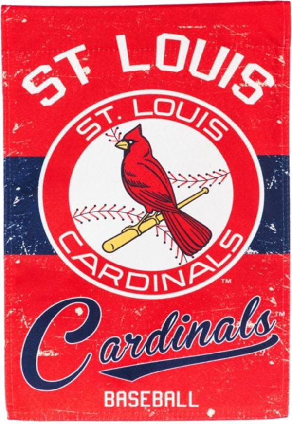 Evergreen St. Louis Cardinals Vintage Garden Flag product image