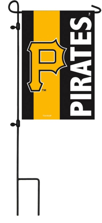 Evergreen Pittsburgh Pirates Embellish Garden Flag product image