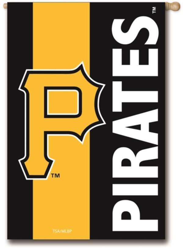 Evergreen Pittsburgh Pirates Embellish House Flag product image