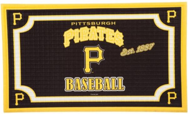 Evergreen Pittsburgh Pirates Embossed Door Mat product image